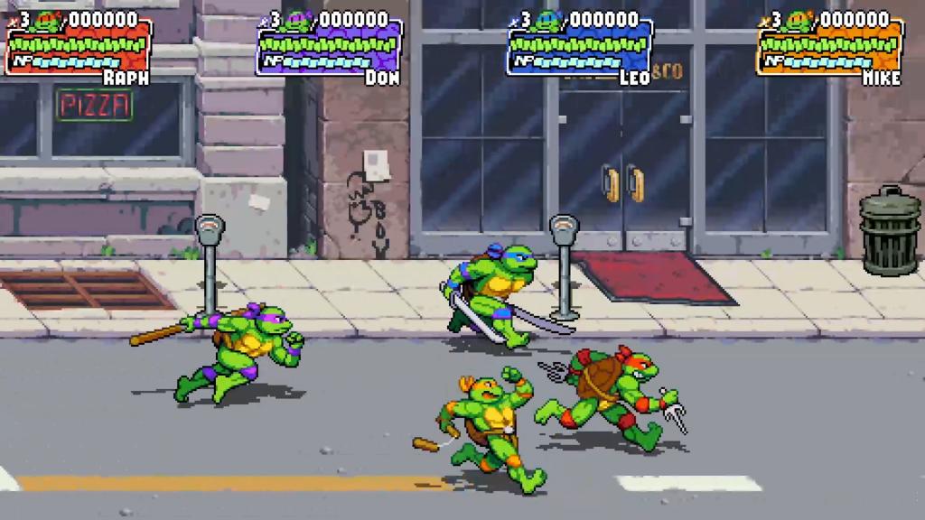 Teenage Mutant Ninja Turtles: Shredder's Revenge game screenshot
